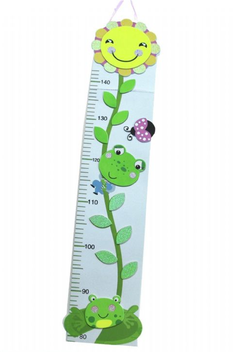 Toddler Height Chart up to 150cm (Happy Sunflower)